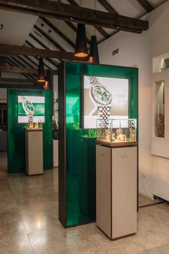 Rolex Exclusive Presentation Of New Oyster Perpetual Collecition Zagreb Dubravkin Put - Mamic 1970