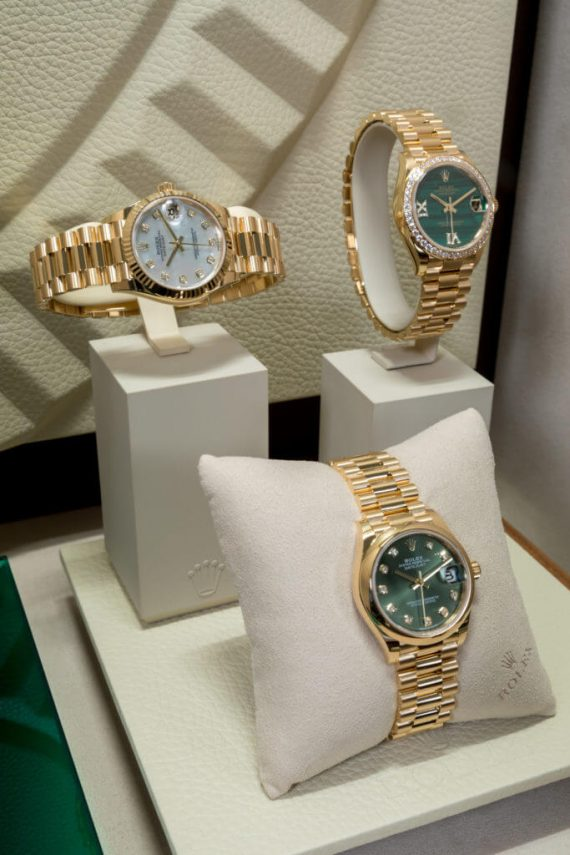 Rolex Event Yellow Gold Datejust 31 New Oyster Collection - Mamic 1970