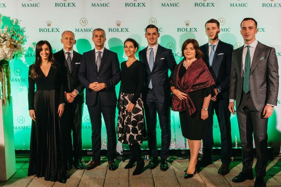 Rolex Family Mamic Mamic Rolex Event 40th Anniversary Partnership Hotel Esplanade Zagreb - Mamic 1970