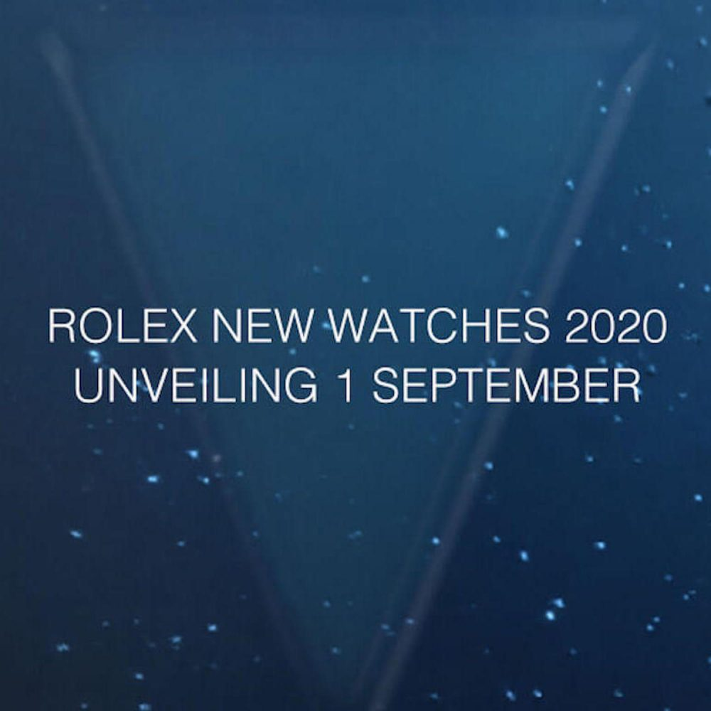 Rolex Unveiling New Watches 2020 - Mamic 1970
