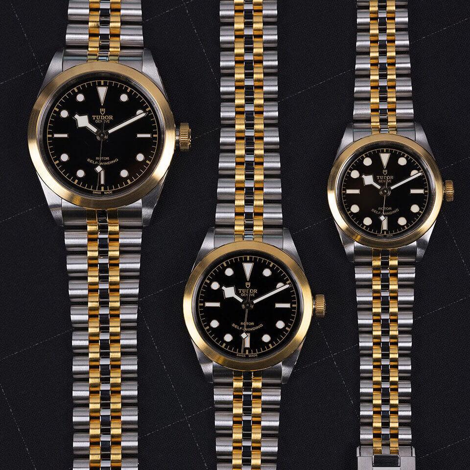 Tudor Black Bay 32/36/41 S&G Black Dial - Mamic 1970