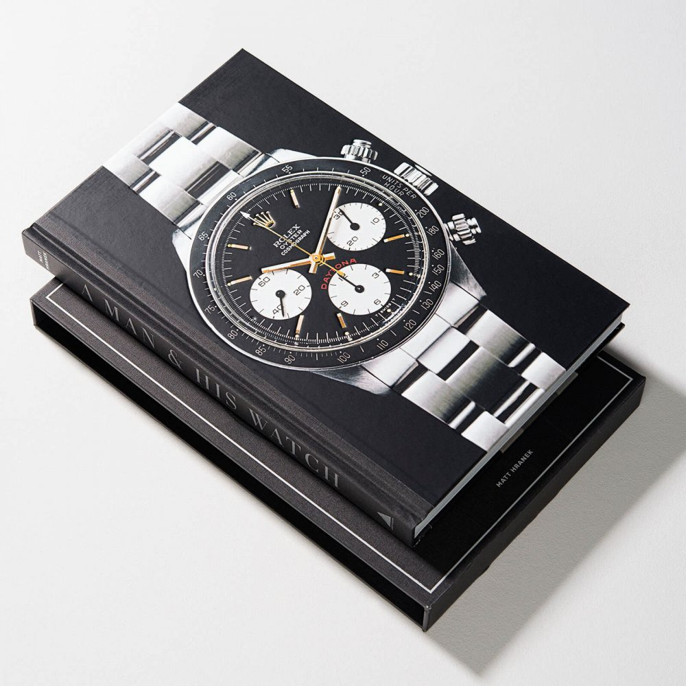 Luxury Book A Man And His Watch By Matt Harnek - Mamic 1970