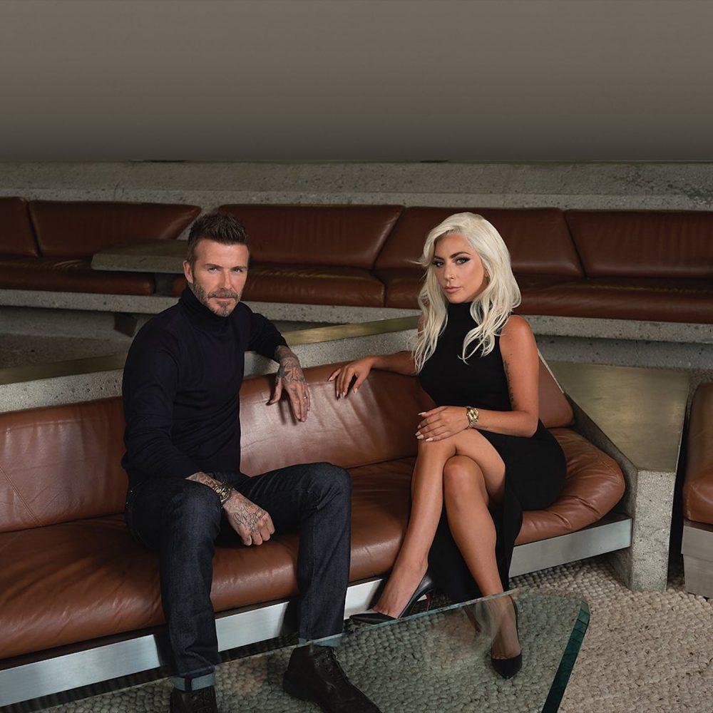 TUDOR Watch Ambassadors David Beckham Lady Gaga Born To Dare TUDOR Black Bay Ceramic One - Mamic 1970