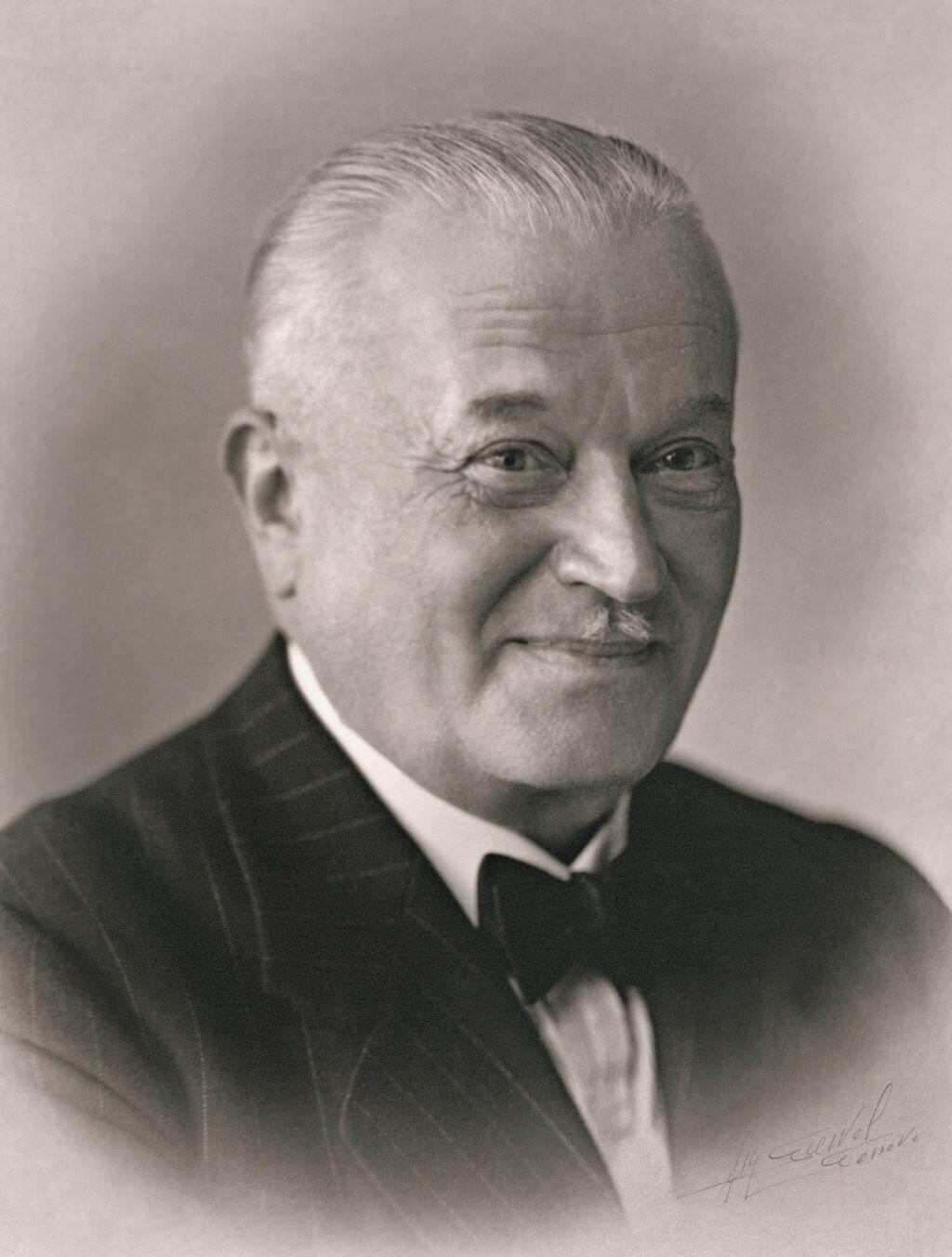 Hans Wilsdorf approx 1945 Rolex - Mamic 1970