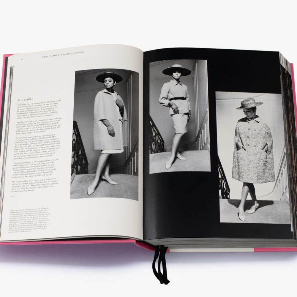 Yves Saint Laurent Catwalk Suzy Menkes Olivier Flaviano Thames and Hudson - Mamic 1970