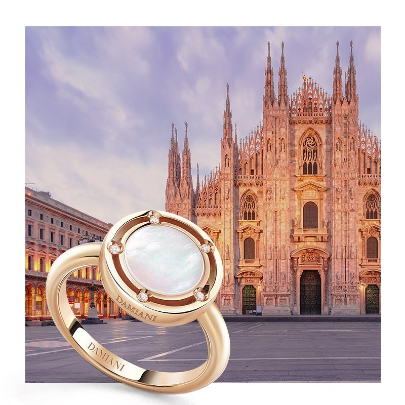 Damiani D.Side ring Ref. 20084410 - Mamic 1970