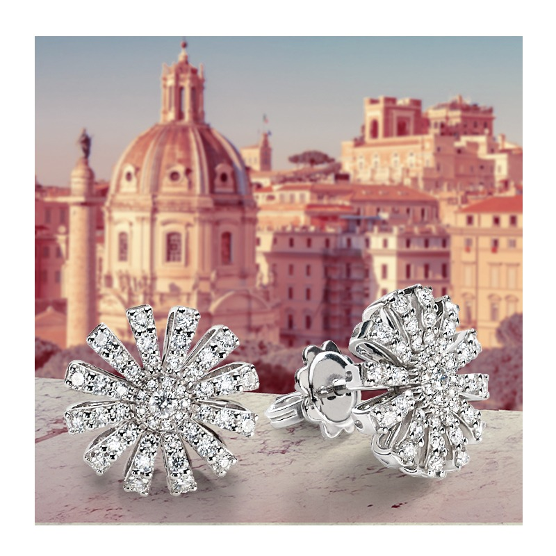 Damiani Margherita Collection earrings Ref. 20072761 - Mamic 1970