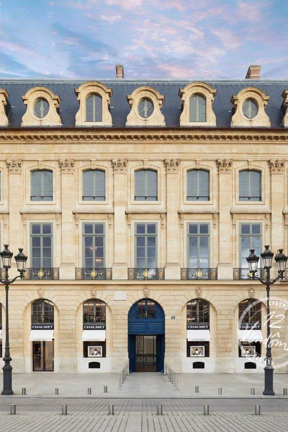 Maison Chaumet 12 Vendome Paris - Mamic 1970