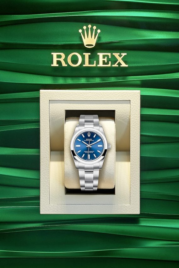 Rolex Oyster Perpetual 34 Ref. 124200-0003 - Mamic 1970