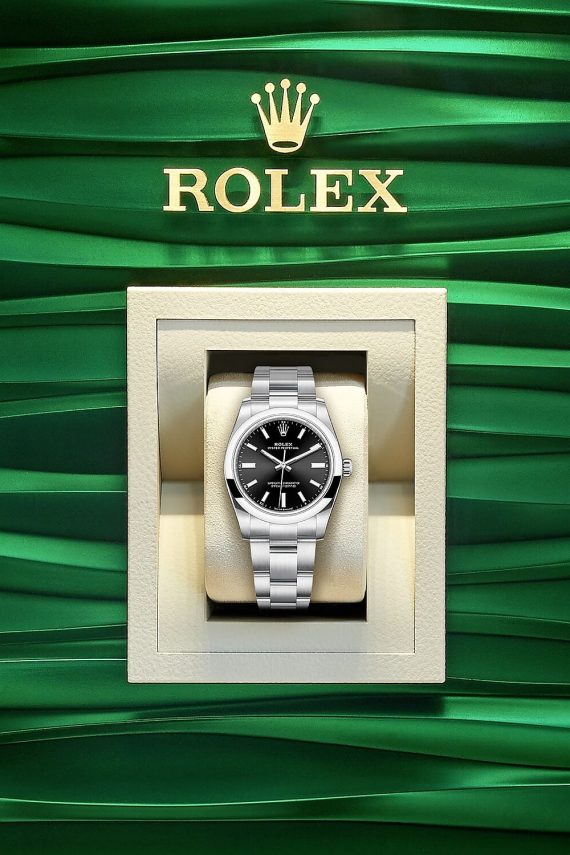 Rolex Oyster Perpetual 34 Ref. 124200-0002 - Mamic 1970