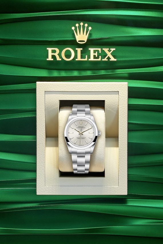 Rolex Oyster Perpetual 34 Ref. 124200-0001 - Mamic 1970