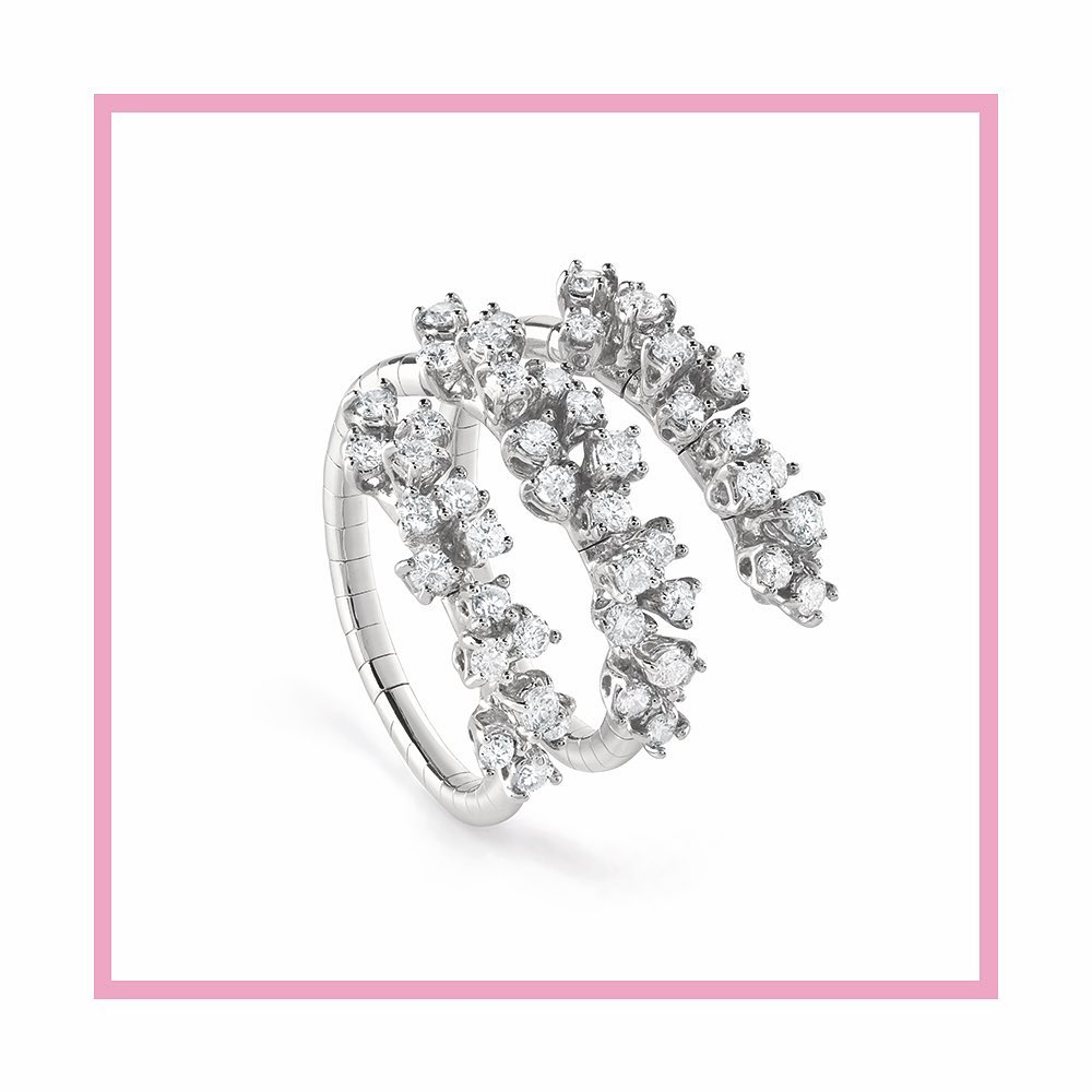 Damiani Mimosa collection ring Ref. 20078486 - Mamic 1970