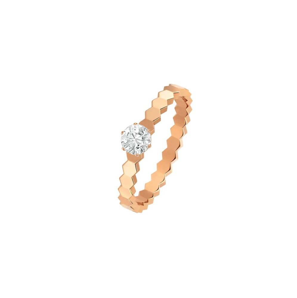 Chaumet Bee My Love solitaire diamond ring Ref. J4NC00 - Mamic 1970