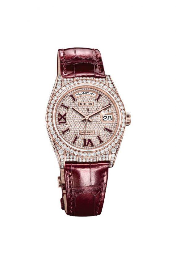 Rolex Day Date 36 Ref. 128155rbr-0002 - Mamic 1970