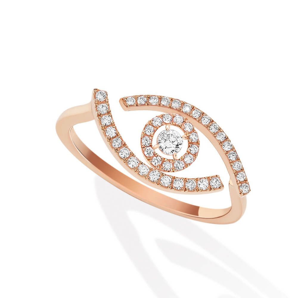 Messika Lucky Eye Pave 10037-PG - Mamic 1970