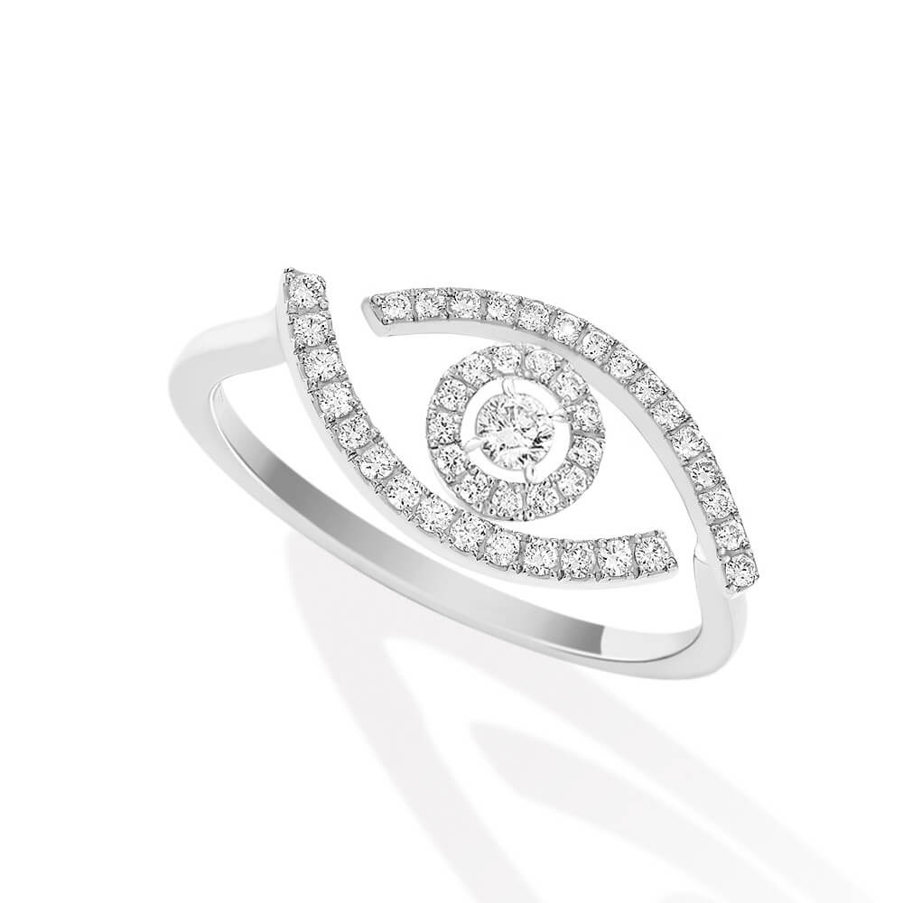 Messika Lucky Eye Pave 10037-WG - Mamic 1970