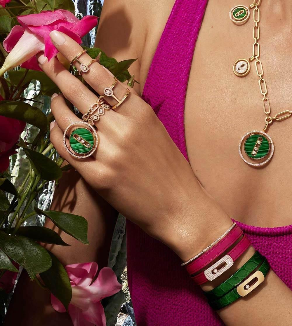 Messika diamond rings
