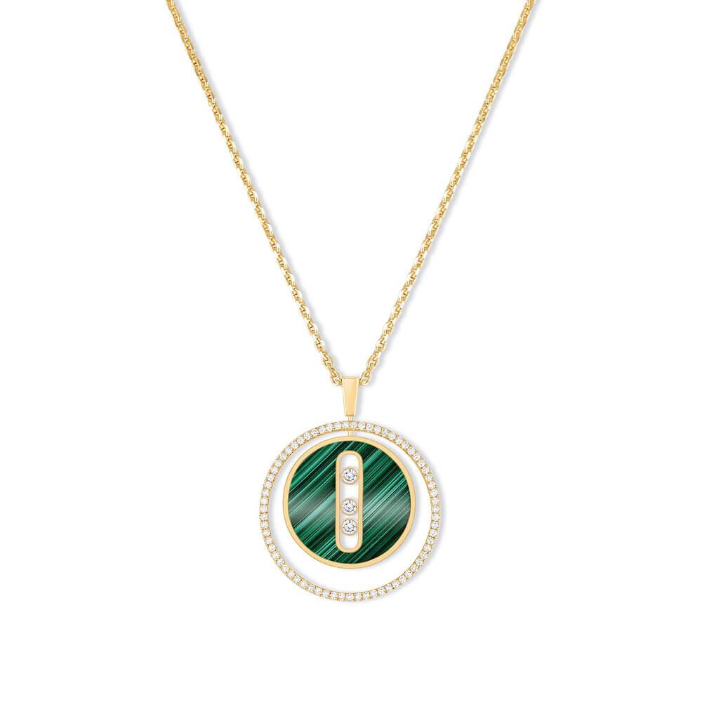 Messika Lucky Move malachite necklace