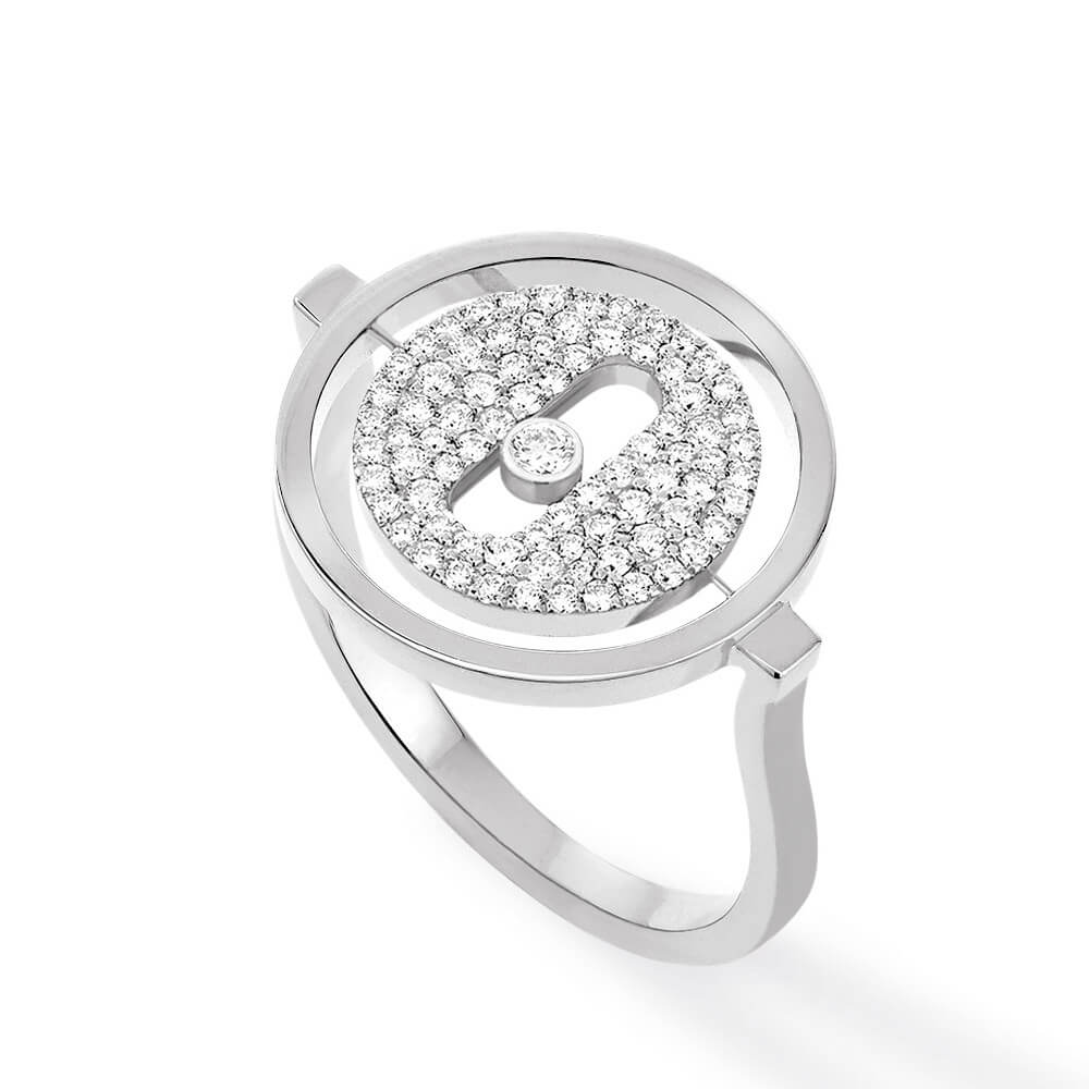 Messika Lucky Move Pave ring