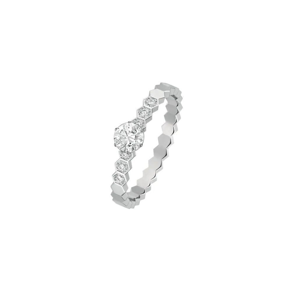 Chaumet Bee My Love solitaire diamond ring Ref. J1NC00 - Mamic 1970