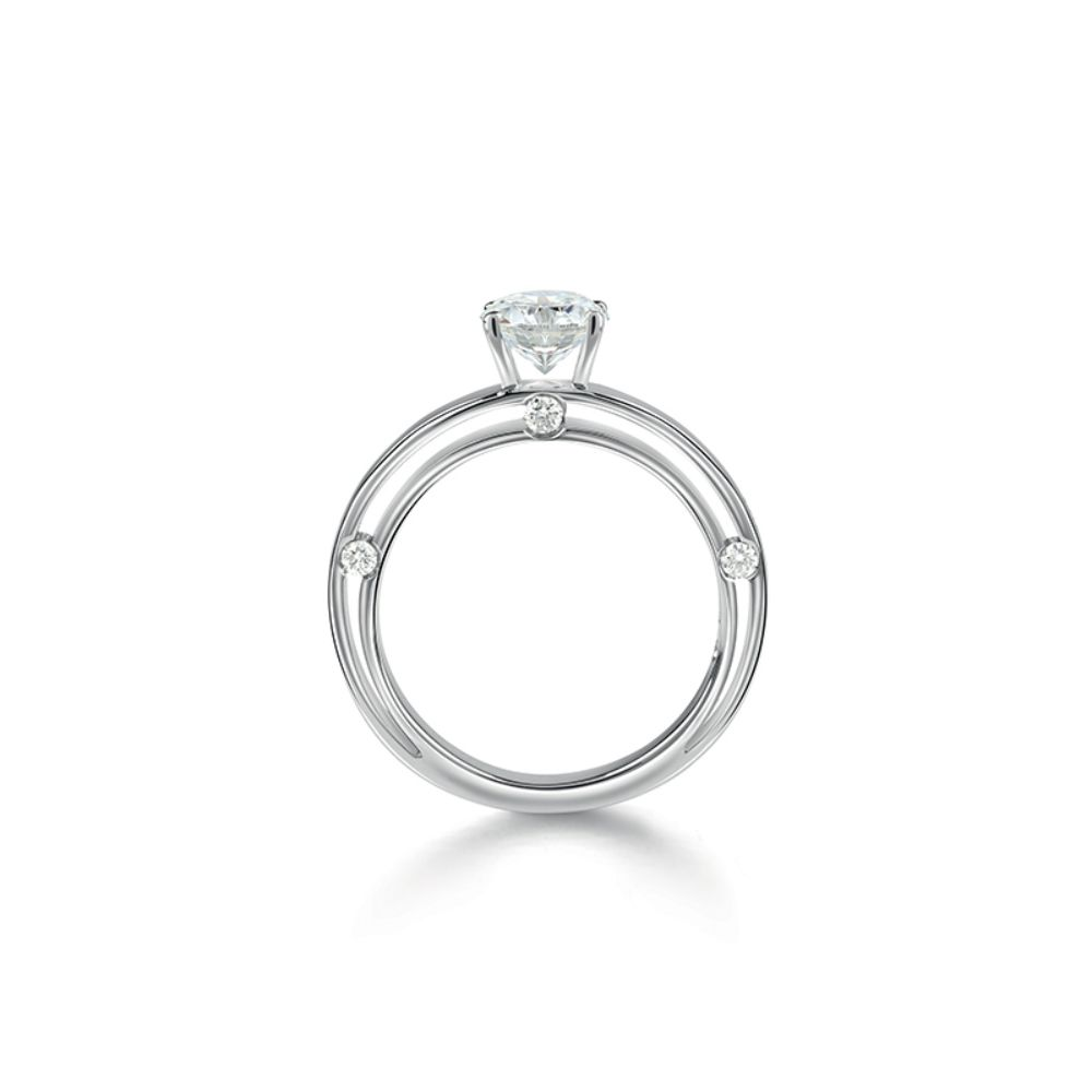 Damiani DSide Engagement Ring