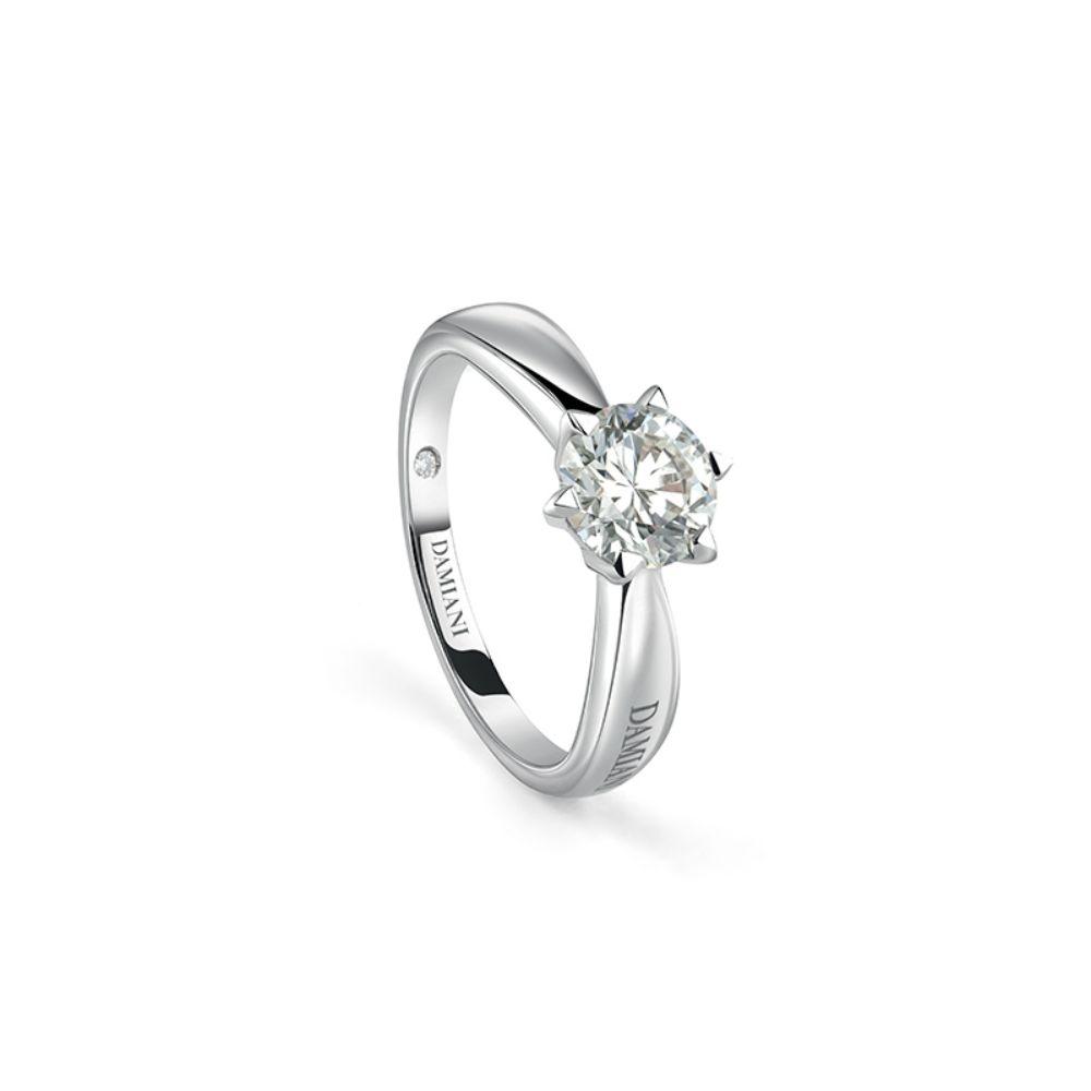 Damiani Sei Tu Engagement Ring