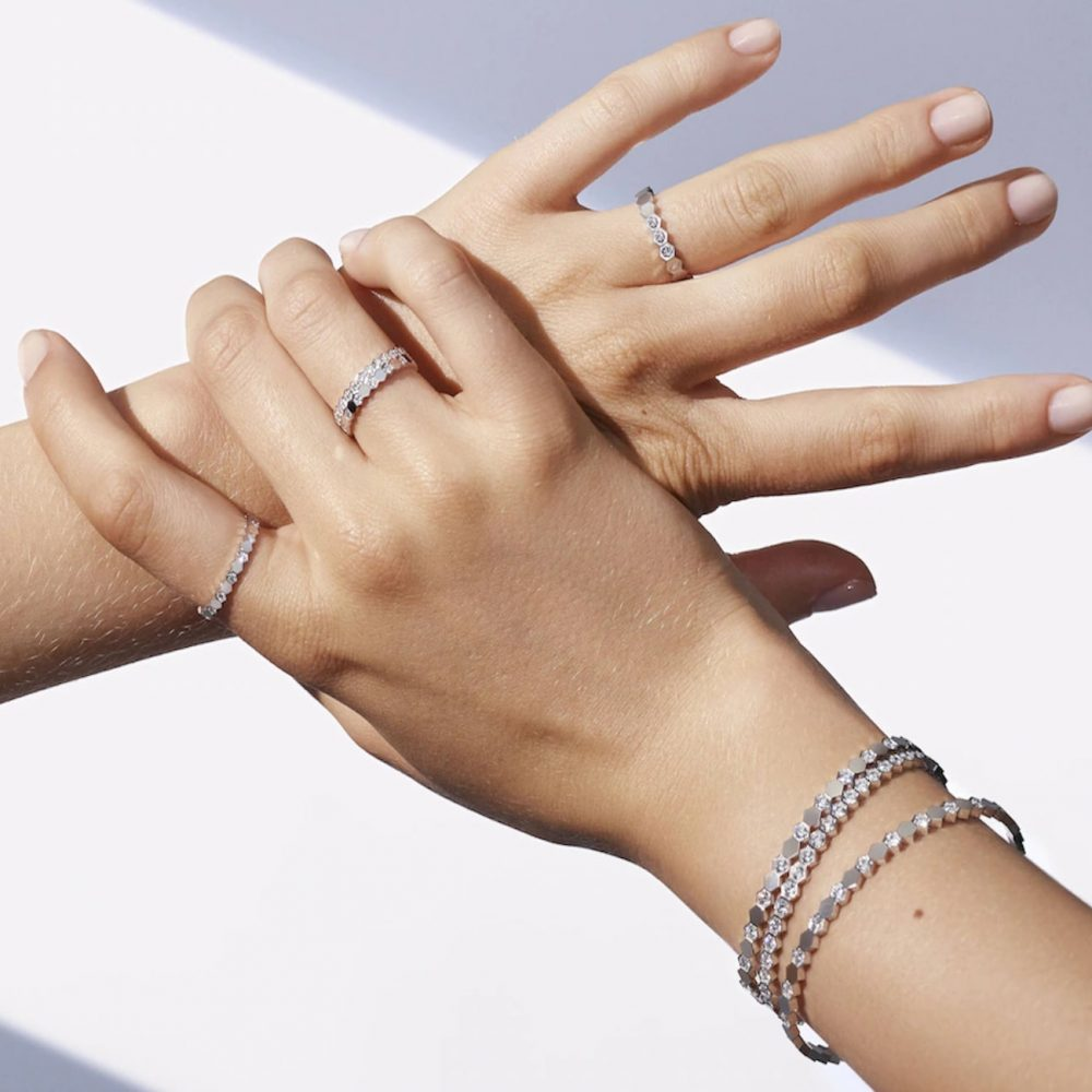 Chaumet Bee My Love jewelry stacking